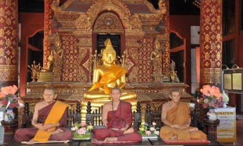 Zdjęcie TAJLANDIA / Chiang Mai / Chiang Mai / Budda