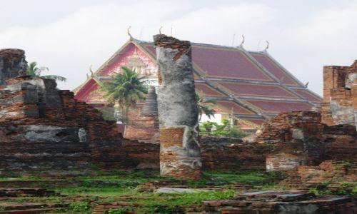 Zdjęcie TAJLANDIA / Ayutthaya / Ayutthaya / Ruiny byłej stolicy III