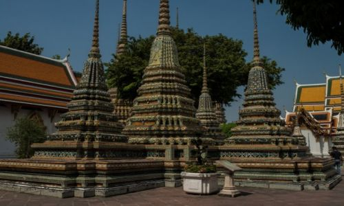 Zdjecie TAJLANDIA / Bangkok / Wat Po / Kolorowo