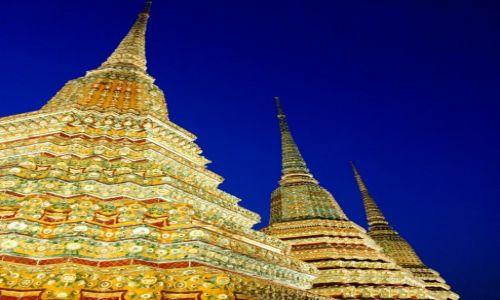 Zdjecie TAJLANDIA / Bangkok / Kompleks światyń Wat Pho, Bangkok / Wat