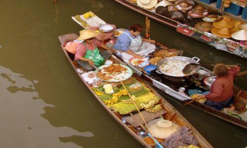 Zdjęcie TAJLANDIA / Okolice Bangkoku / Damnoen Saduak / Floating market