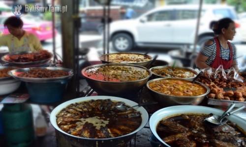Zdjecie TAJLANDIA / Bangkok / China Town / kuchnia wprost na ulicy