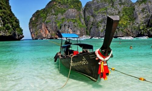 Zdjecie TAJLANDIA / PhiPhi Island / Maya Bay / bello