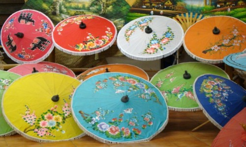 Zdjęcie TAJLANDIA / Północ / w sklepie / Para-sol