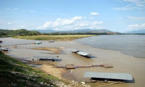 Zdj�cie TAJLANDIA / Z�oty Tr�jk�t / okolice Chiang Saen  / Gdzie ��cz� si� rzeki