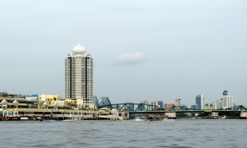 Zdjęcie TAJLANDIA / Bangkok / Bangkok / Rzeka Menam (Chao Phraya)