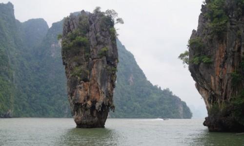 Zdjęcie TAJLANDIA / Zatoka Phang Nga / James Bond Island / Skała Jamesa Bonda