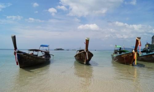 TAJLANDIA / Krabi / Railay Beach / Rajska pla�a