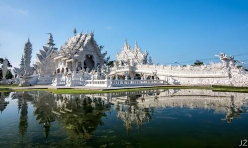 Zdjęcie TAJLANDIA / Chiang Rai / Wat Rond Khun / Biała Świątynia
