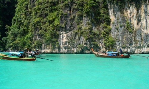 Zdjecie TAJLANDIA / Krabi / Ko Phi Phi / Zielone morze