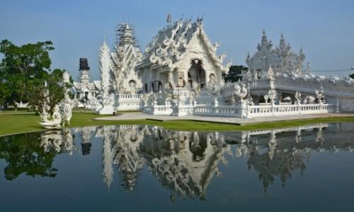 Zdjecie TAJLANDIA / Tajlandia / Tajlandia / Bia�a �wi�tynia