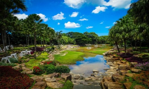 Zdjecie TAJLANDIA / Pattaya dalsze okolice / secret garden / w tajskim ogrodzie