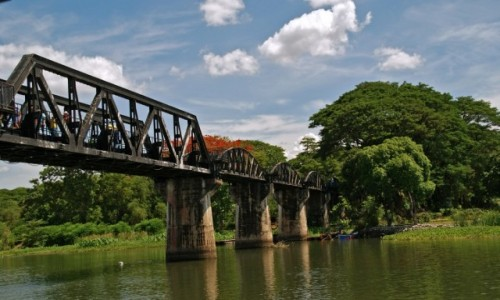 Zdjecie TAJLANDIA / Tajlandia / Tajlandia / Most na rzece Kwai
