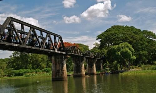 Zdjecie TAJLANDIA / Tajlandia / Tajlandia / Most na rzece K