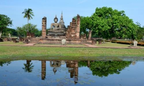 Zdjecie TAJLANDIA / Tajlandia / Tajlandia /  Sukhothai