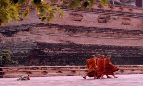 TAJLANDIA / P�noc / Chiang Mai / Wat Chedi Luang