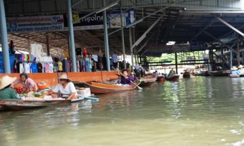 Zdjęcie TAJLANDIA / Bankok / Bankok / Targ wodny