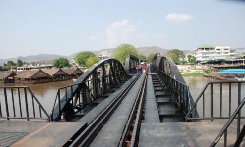 Zdjęcie TAJLANDIA / Kanchanabari / Tajlandia / Most na rzece Kwai