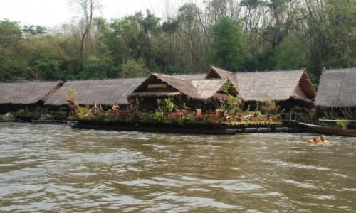 Zdjęcie TAJLANDIA / Kanchanaburi / Tajlandia / Jungle Rafts -Wypoczynek