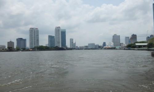 Zdjecie TAJLANDIA / Bangkok / Rzeka Menam / BANGKOK NAD MENAM