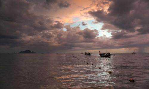 Zdjecie TAJLANDIA / Krabi / Ao Nang / łodzie