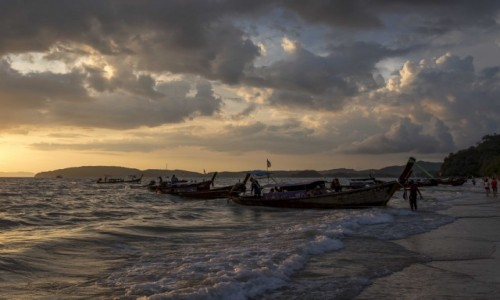 Zdjecie TAJLANDIA / Krabi / Ao Nang / port