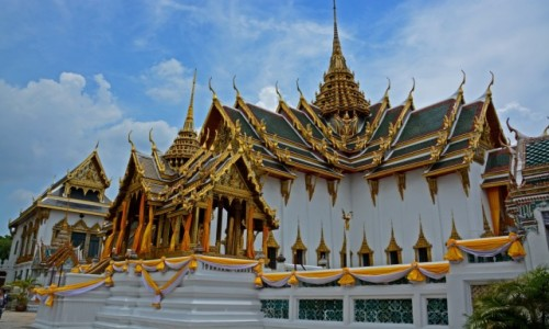 Zdjecie TAJLANDIA / Bangkok / Bnagkok / Grand Palace in