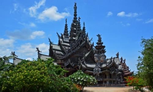 Zdjęcie TAJLANDIA / Pattaya / Pattaya / Świątynia Prawdy