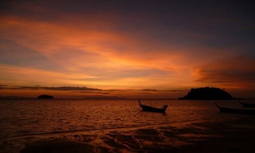 Zdjecie TAJLANDIA / - / Koh Lipe  / Bajeczny wschód słońca