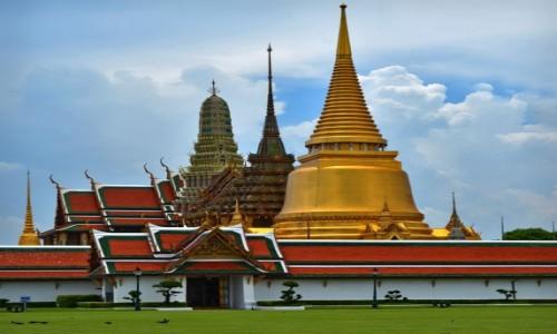TAJLANDIA / Bangkok / Bangkok / Pałac królewski Bangkok