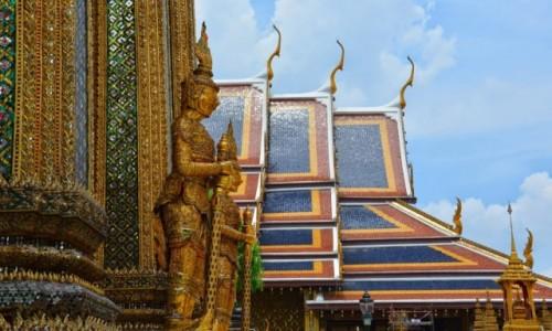 Zdjęcie TAJLANDIA / Bangkok / Pałac królewski w Bangkoku / Pałac Królewski w Bangkoku