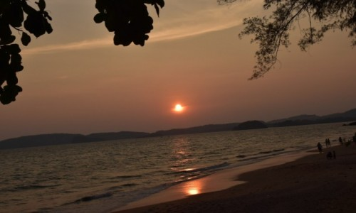 Zdjęcie TAJLANDIA / Krabi / Ao Nang beach  / Ao Nang