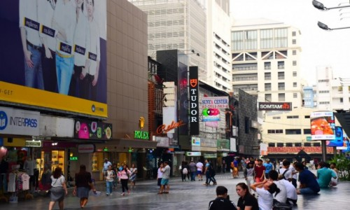 Zdjęcie TAJLANDIA / Bangkok / Siam / Siam square area