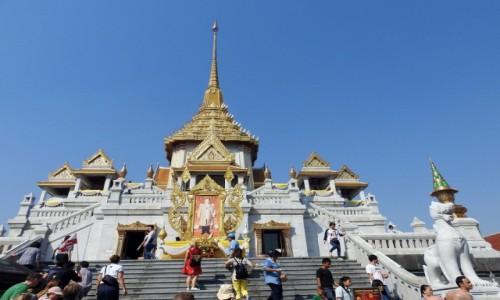 TAJLANDIA / Bangkok / Chinatown / Świątynia Złotego Buddy