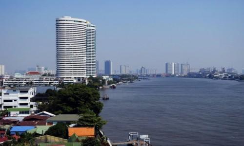 TAJLANDIA / Bangkok / Menam / Rzeka