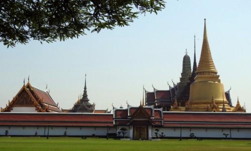 TAJLANDIA / Bangkok / Bangkok / Pałac królewski