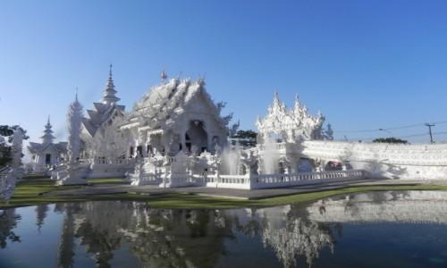Zdjecie TAJLANDIA / Chiang Rai / światynia / Biała światynia