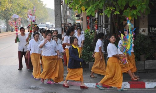 TAJLANDIA / północ / Chiang Mai / Nasza klasa