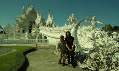 Zdjecie TAJLANDIA / Tajlandia Północna / วัดร่องขุ่น - Wat Rong K / วัดร่องขุ่น - Wat Rong Khun