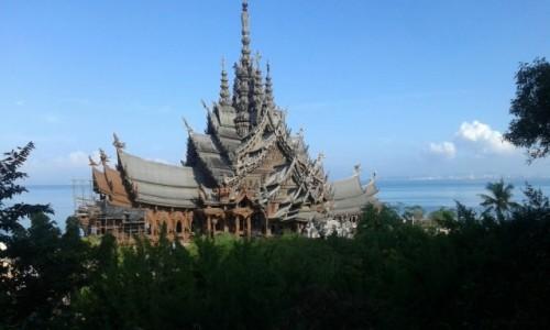 Zdjęcie TAJLANDIA / - / Świątynia Prawdy, Pattaya / Świątynia Prawdy, Pattaya