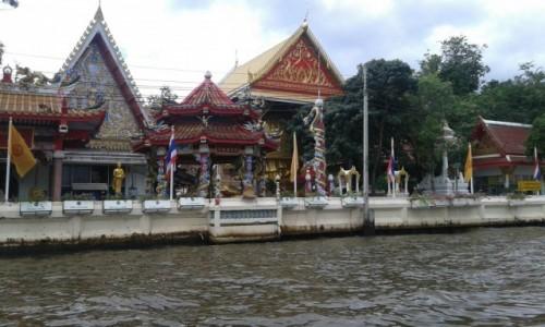 Zdjecie TAJLANDIA / - / Rejs kanałami Thonburi w Bangkoku / Rejs kanałami Thonburi w Bangkoku