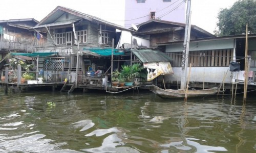 TAJLANDIA / - / Rejs kanałami Thonburi w Bangkoku / Rejs kanałami Thonburi w Bangkoku