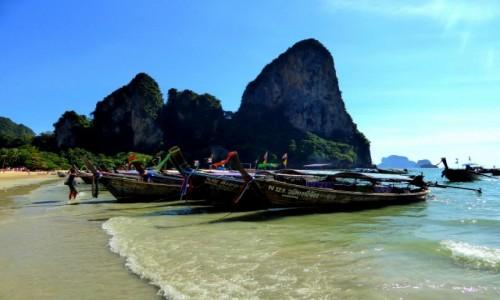 Zdjecie TAJLANDIA / Krabi / Railay Beach / Pocztówkowa Tajlandia