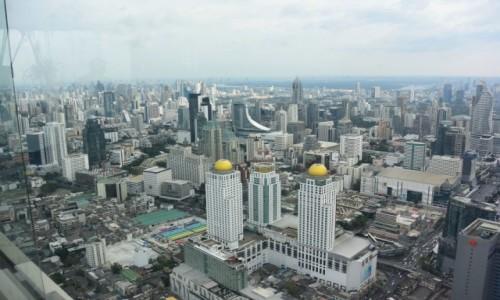 Zdjecie TAJLANDIA / - / Bangkok / Baiyoke Sky Tower- panorama Bangkoku