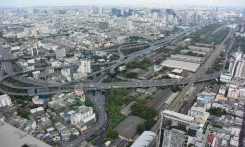 Zdjecie TAJLANDIA / - / Bangkok / Panorama Bangkoku z Baiyoke Sky Tower