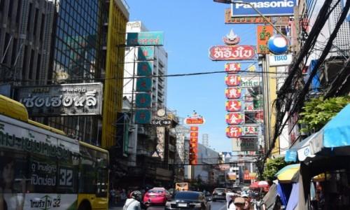 Zdjecie TAJLANDIA / - / Chinatown w Bangkoku / Chinatown w Bangkoku