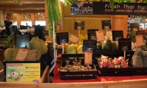 Zdjecie TAJLANDIA / - / Bangkok / Egzotyczne owoce