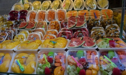 Zdjecie TAJLANDIA / - / Bangkok / Mix egzotycznych owoców