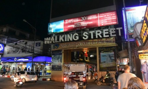 Zdjecie TAJLANDIA / - / Walking Street - Pattaya / Walking Street - Pattaya