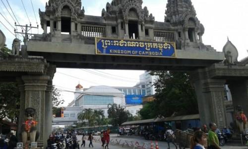 Zdjecie TAJLANDIA / - / Poipet / Poipet przejście graniczne pomiędzy Tajlandią a Kambodżą